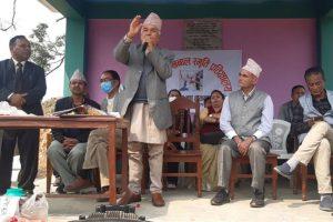 संसदीय व्यवस्थालाई विकृतिबाट बचाउनु आवश्यक : वरिष्ठ नेता पौडेल